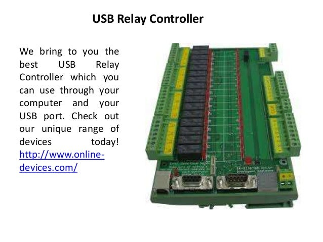 Relay Control Software
