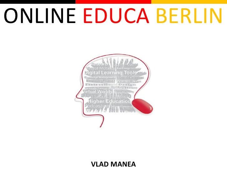 ONLINE EDUCA BERLIN            VLAD MANEA