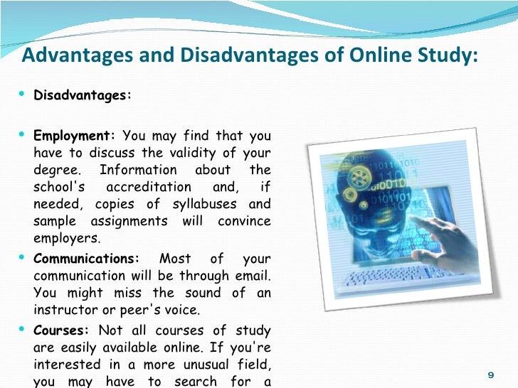 advantages and disadvantages of online classes essay