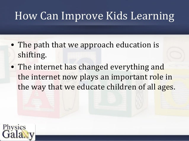 How can we improve education