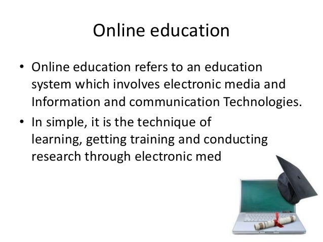 online education powerpoint presentation koni polycode co