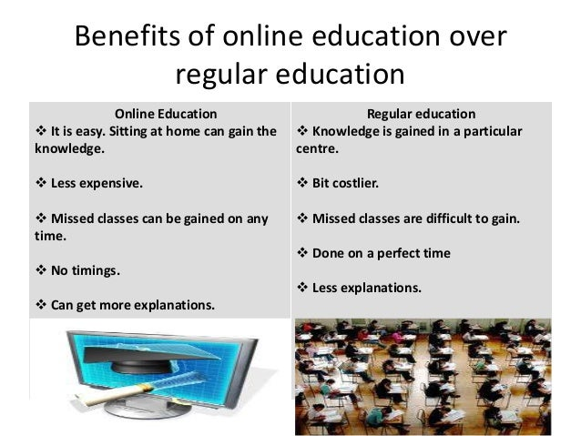 essay on online education