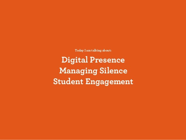 Thinking about Online Student Engagement Slide 2