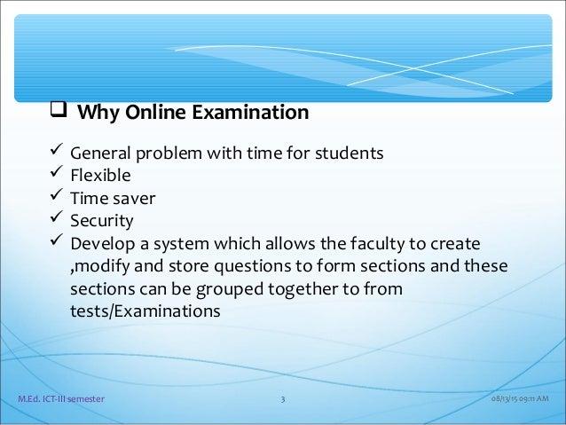 An examination of open education