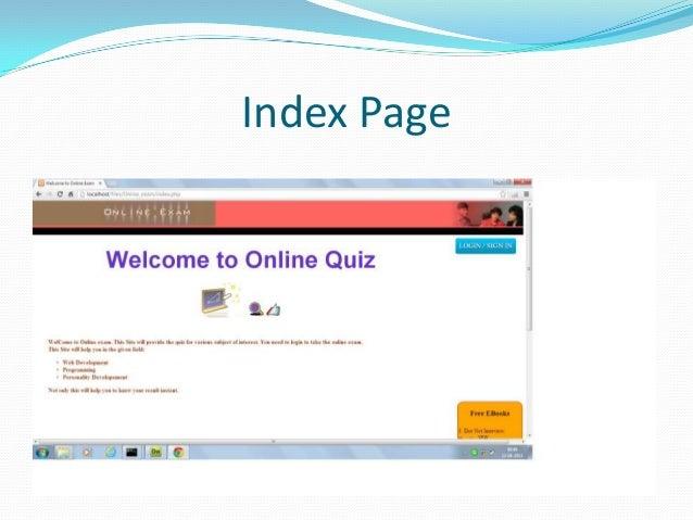 Online Exam Portal for Campus