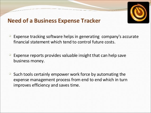 online business expense tracker