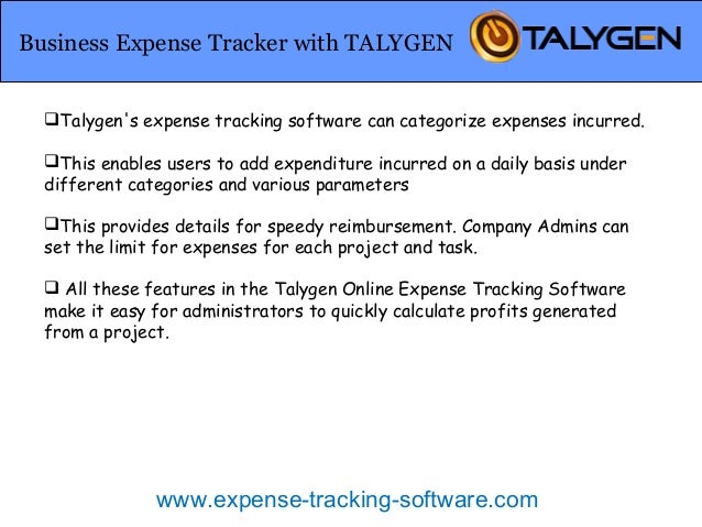 online expense tracking software track all expenses of business