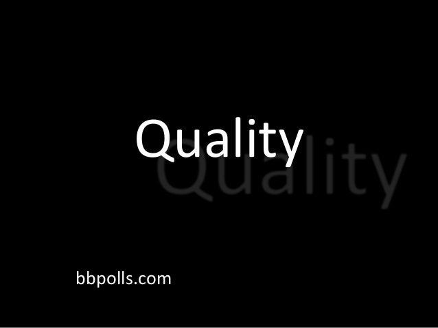 Quality bbpolls.com