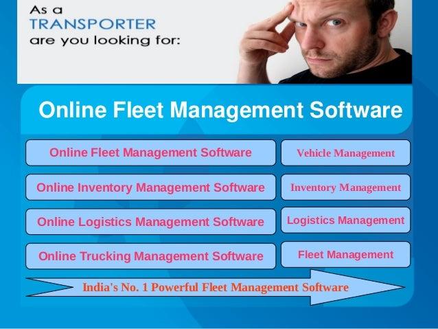 OnlineFleetManagementSoftware Online Fleet Management Software  Vehicle Management  Online Inventory Management Softwar...