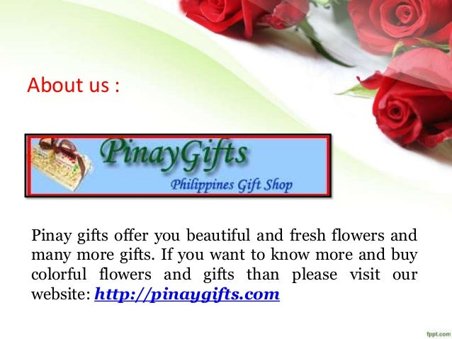 6. About us : Pinay gifts ...
