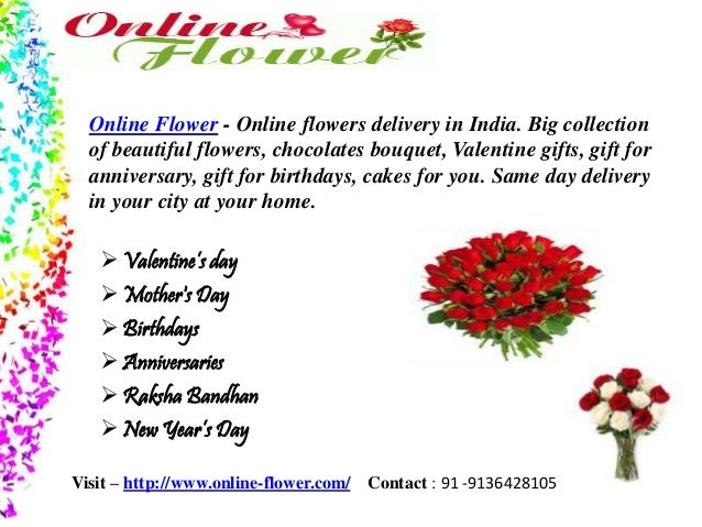 Online Flower Shop India