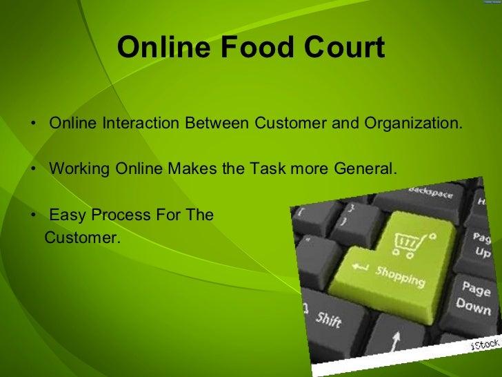 Online Food Court