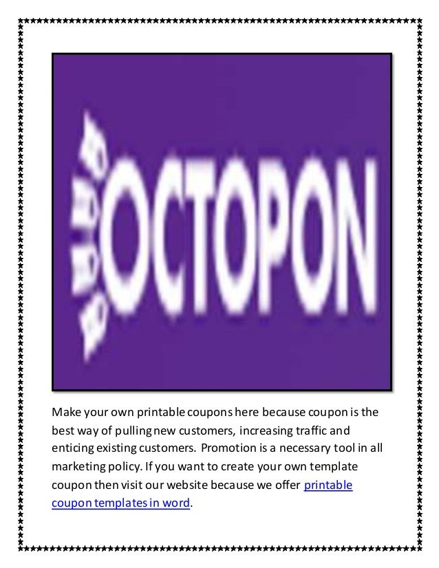 Make Your Own Coupon Template from image.slidesharecdn.com