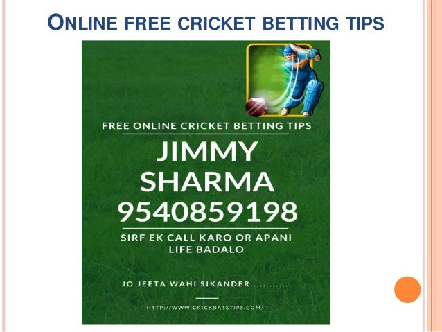 Best free cricket betting tips betting tips 1x2 infobae