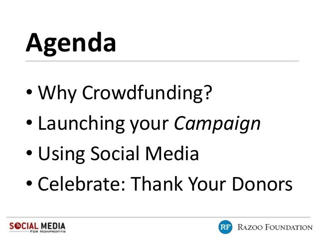 Online Fundraising with Social Media with Razoo and Social Media for Nonprofits Slide 3