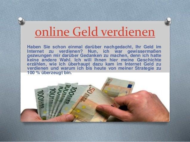 online Geld verdienen Haben Sie schon einmal darüber nachgedacht, Ihr Geld im Internet zu verdienen? Nun, ich war gewisser...