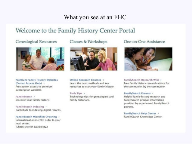 Online Genealogy Intro for Mendon NY Public Library and