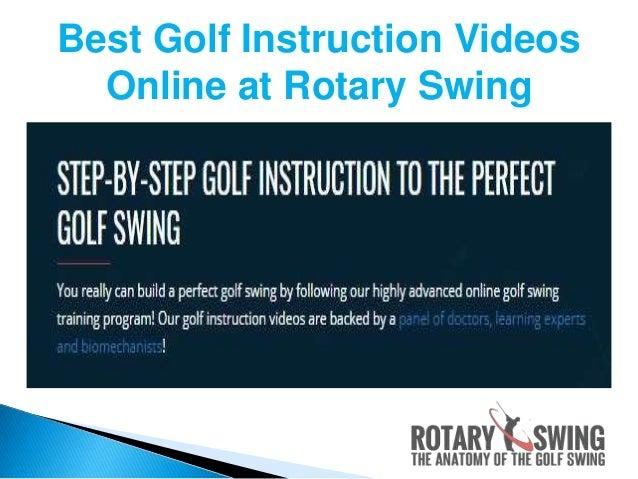Online Golf Instruction Videos