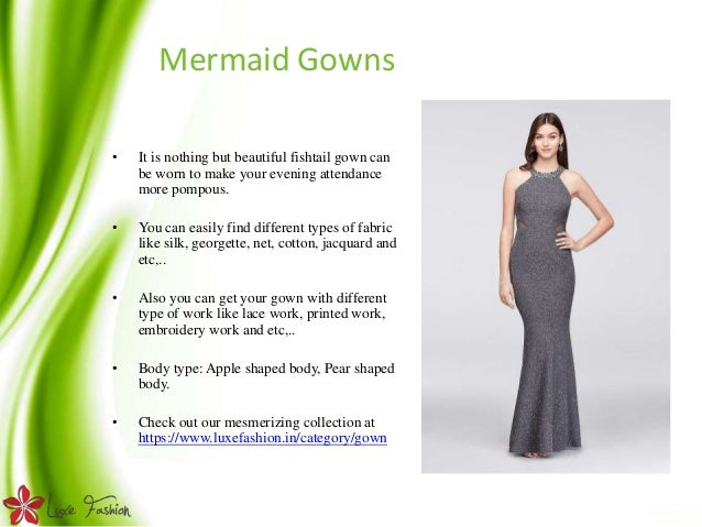 Online gown shopping in India Luxefashion