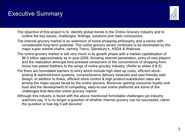 3 executive summary