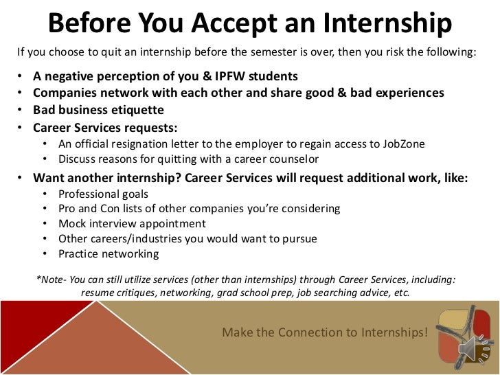 Internship Prep Guide