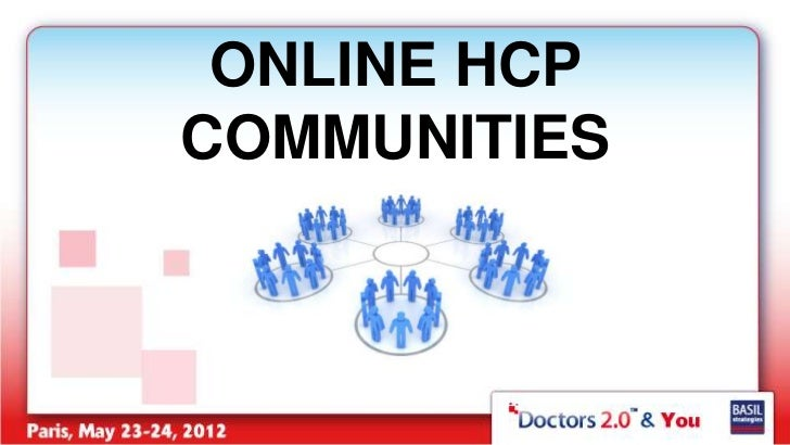ONLINE HCPCOMMUNITIES