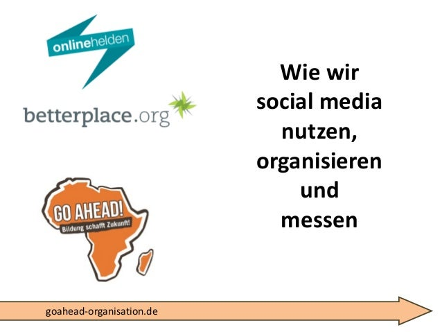 Wie wir socialmedianutzen, organisierenundmessengoahead-organisation.de