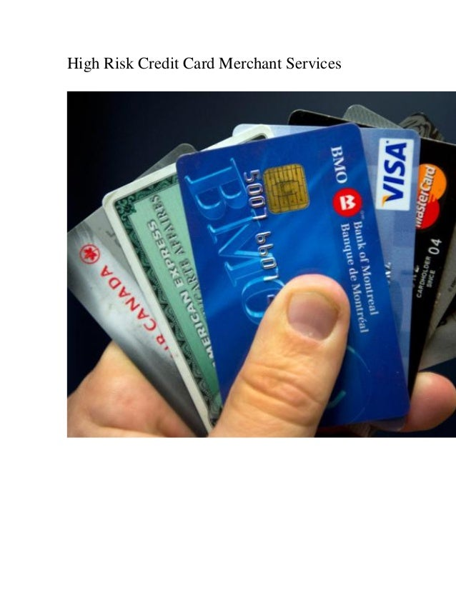 High Risk Credit Card Merchant Services