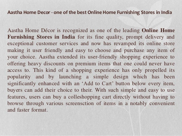 Online Home Furnishing Stores In India 4