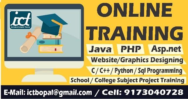 Online ict bopal_computer_training
