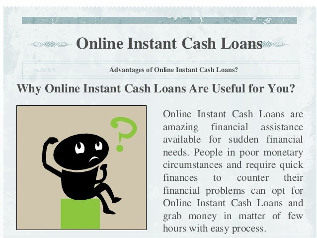 Where can I get an instant loan?