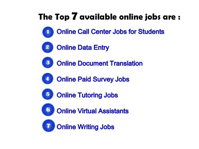 5 online jobs for college students lendedu