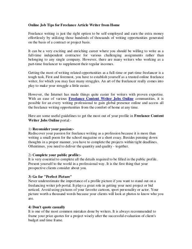 Get Essay Writing Jobs at Academia-Research.com