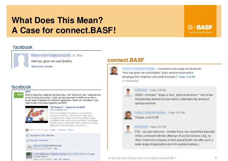 Onlinekommunikationspreis connect basf