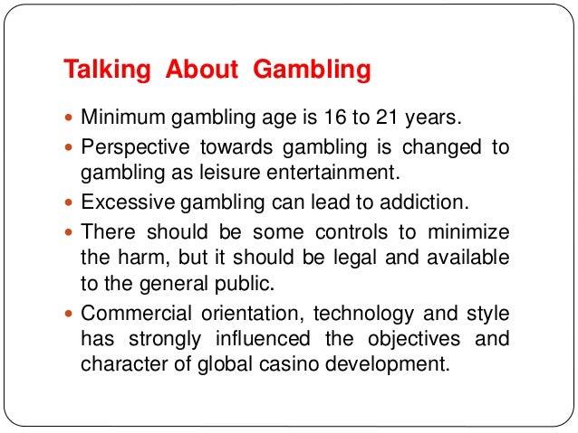 Legal age for gambling in vegas