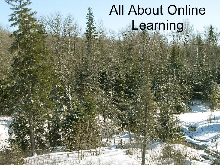 All About Online Learning