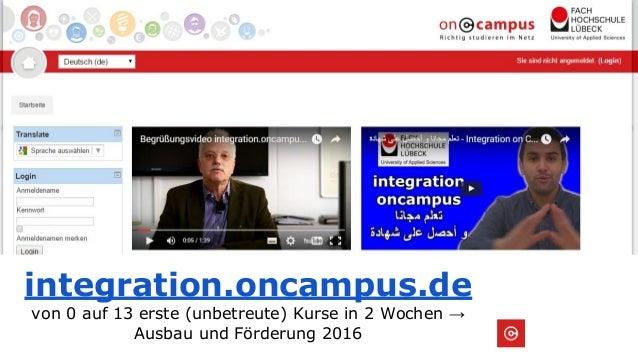 Online learning 4 refugees #bchh16 Slide 3