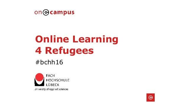 Online Learning 4 Refugees #bchh16