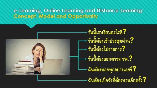 Online learning environment Slide 2
