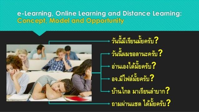 Online learning environment Slide 3