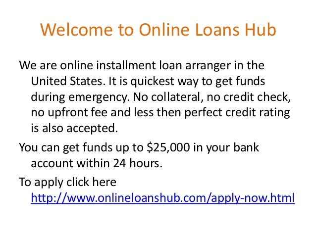 Examples of Loan Types