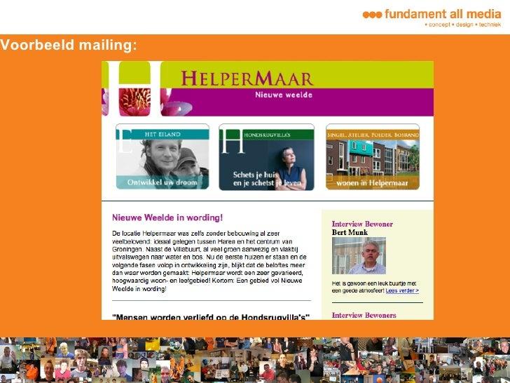 online email campagnes fundament all media. Black Bedroom Furniture Sets. Home Design Ideas