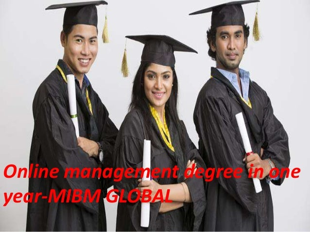 Online Management Degree In One Year A Big Leap In The Career