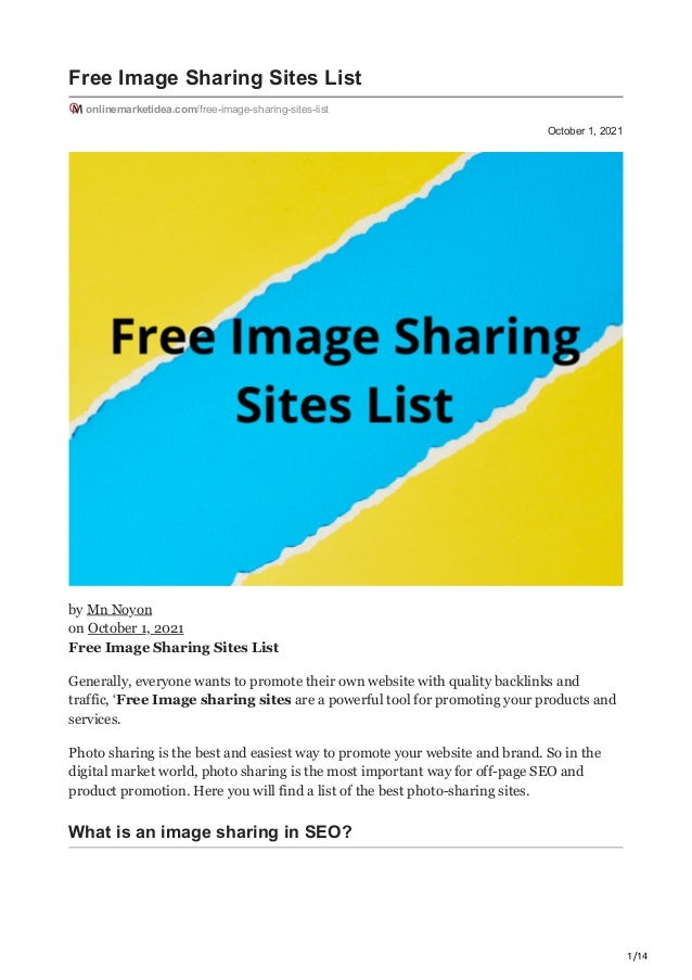 onlinemarketideacom free image sharing sites list 1 638