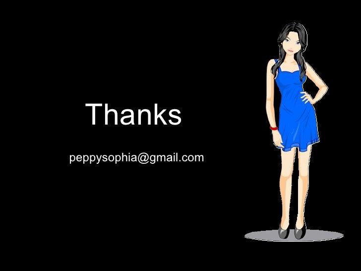 Thanks [email_address]