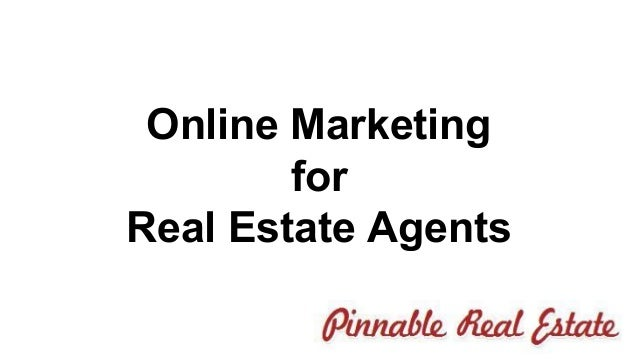 online marketing for real estate agents