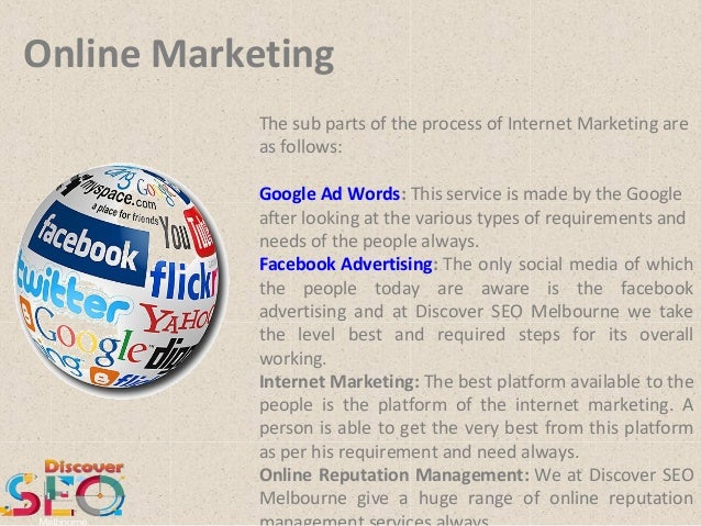 Online Marketing - Discover SEO Melbourne Slide 3
