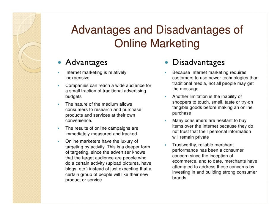 Essay on Advantages and Disadvantages of Internet