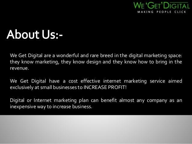 Online marketing – a great solution for website promotion! Slide 2