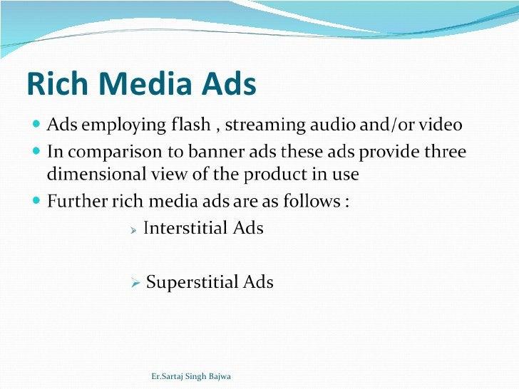 Rich Media Ads Er.Sartaj Singh Bajwa